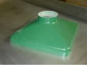 Hotte aspirante industrielle en polyester - Hotte monobloc modulable
