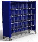 Housse extérieure chariot casiers - Personnalisable