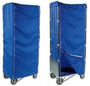 Housse pour chariot à linge roll - Tissu 100 % polyamide lourd 200 g/m².
