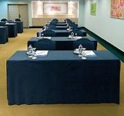 Housse table conférence - En suédine 100% polyester