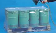 Housse thermorétractable transparente pour palettes - Longueur (m) : 116 - 126