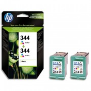 HP Cartouche encre No 344 PACK2 3COUL C9505EE - HP