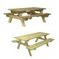 Table pique-nique bois