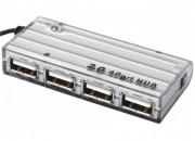 Hub USB 2.0 HighSpeed avec câble USB