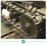Huile lubrifiante pour chaîne à haute température - Lubrification de la chaîne à haute température jusqu'à 260 °C