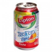 ICE TEA Light Canette 33cl saveur pêche - Europa