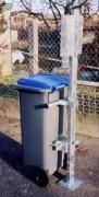 Immobilisateur pour conteneurs roulants - Immobilisateur conteneur- 5A001