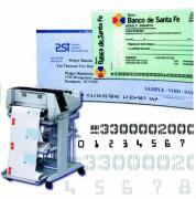 Imprimante industrielle laser listing - Débit d'impression jusqu'à 11.500 chèques par heure