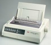 Imprimante matricielle OKI 9 aiguilles - Vitesse d'impression : 50cps (12cpi)