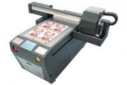 Imprimante UV à plat jet encre - Impression en un seul passage du blanc, des couleurs