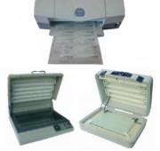 Imprimante UV de plaques d'identification - Plaques : aluminium et polyester photosensibles