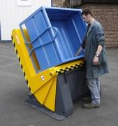 Inclineur de caisse 70° - Charge maximale : de 500 kg à 1500 kg