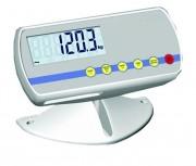 Indicateur de pesage sur pied ou à fixer sur colonne - Précision maximale de pesage : 1000 échelons