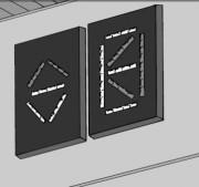 Indicateurs lumineux LED - Pour l'étage et la cabine