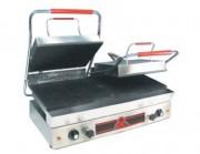 Infra grills double Spécial grillades - Revêtement plaque en fonte pleine