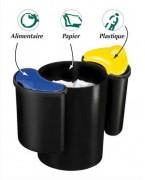 Insert 7 litres pour corbeille a papier confort - CEP