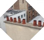 Inspection drone de couverture et façade - Inspection précise et rapide