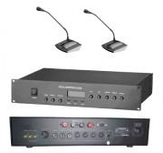 Installateur de système de sonorisation pour aéroports - Pupitres microphones - Amplificateurs - Haut-parleurs - Matrices systèmes