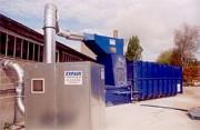 Installation complète pour aspiration des déchets - Extraction de déchets
