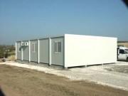 Installation de chantier modulable - Structure isolée, confortable et lumineuse