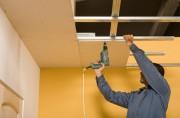 Installation faux plafonds - Modèles movibles ou suspendus