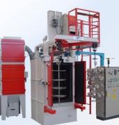 Installation sablage à turbine de grenaillage - Permet une forte puissance de sablage