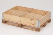 Intercalaires rehausses bois avec 3 rainures - Dimensions: 1160 x 10 x 200 mm