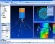 Interface graphique du logiciel CAO