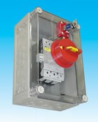 Interrupteur verrouillable mécanique - Sous coffret de 1 à 3 entrées de clés de 5 à 215 kW IVC P 7.160
