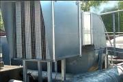 Isolation acoustique rectangulaire - À baffles 100 ou 200 mm - en acier