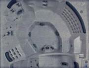 Jacuzzi spa 245 x 245 cm - Ref :  WAVE MODÈLE ULTRA