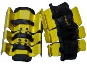 Jambières bottes aquagym - Système de réglage ajustable