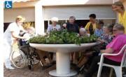 Jardin circulaire thérapeutique - Spécialement adapté aux PMR