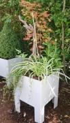 Jardin pot prêt à poser - Bacs amovibles en plastique épais