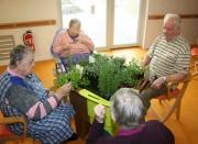 Jardin thérapeutique Alzheimer - Jardin a des effets bénéfiques et thérapeutiques sur les personnes