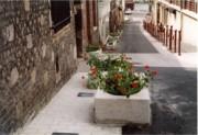 Jardinière auge en granit - Jardinière granit