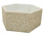 Jardinière béton autostable - Ronde, carrée, rectangulaire, hexagonale