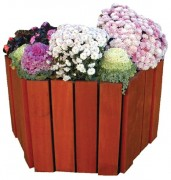 Jardinière bois 350 litres - Capacité : 350 litres