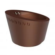 Jardinière décorative en acier - Diamètre (mm) : 873