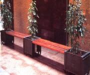 Jardiniére en acier inoxydable - Type simple