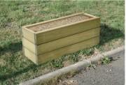 Jardinière en bois - Hauteur : 500 mm – A poser