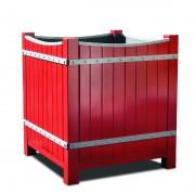 Jardinière extérieure hauteur 80 à 120 mm - Dimensions disponibles (L x l x h) : de 80 x 80 x 90 à 120 x 120 x 130 mm