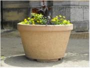 Jardinière extérieure pierre - Diamètre (cm) : 120