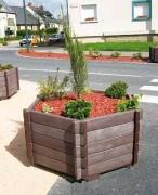 Jardinière imputrescible - 3 Modèles : Carré - Hexagonale - Rectangulaire