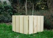 Jardinière rectangulaire en acier galvanisé 78,5 x 151,5 cm - Forme : Rectangulaire