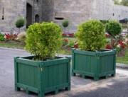 Jardinière recyclé en plastique - Adapté à tous les environnements