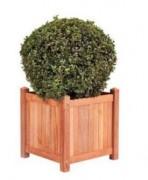 Jardinière urbaine en bois - Dimensions : L45cm x l45cm x H47cm