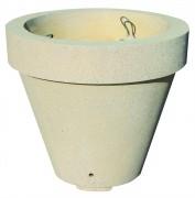 Jardinière vase en béton - Poids Vase M : 206 Kg, Poids Vase XL : 1060 Kg