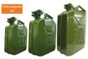 Jerrican essence - Capacité (L) : 5 - 10 - 20.