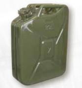 Jerrican métallique - Jerrican pour carburant